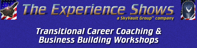 The Experience Shows | Career Coaching, Workshops, and Speaking Services by Lance T. Walker